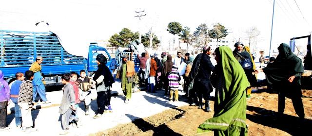 Kleidung fair teilen, Kabul 2014