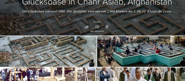 Glücksoase Chahr Asiab, Afghanistan