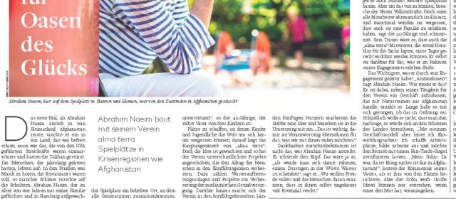 """""""Mann für Oasen des Glücks"""" – Die Welt, 23.09.2016"""